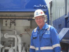 Horst Uchtmann stands for WSG Industrial Services in Germany