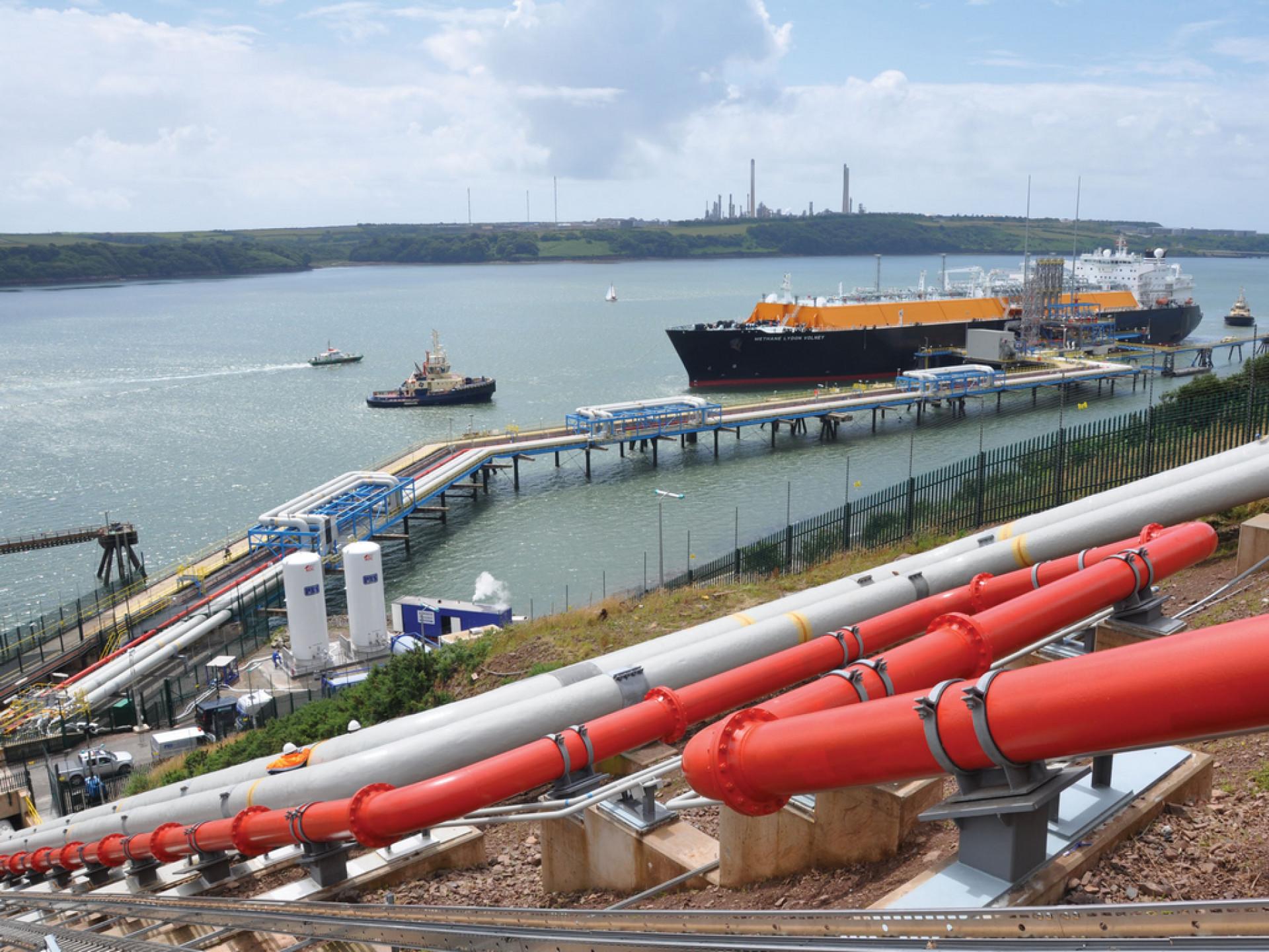 WSG LNG Pushbacks