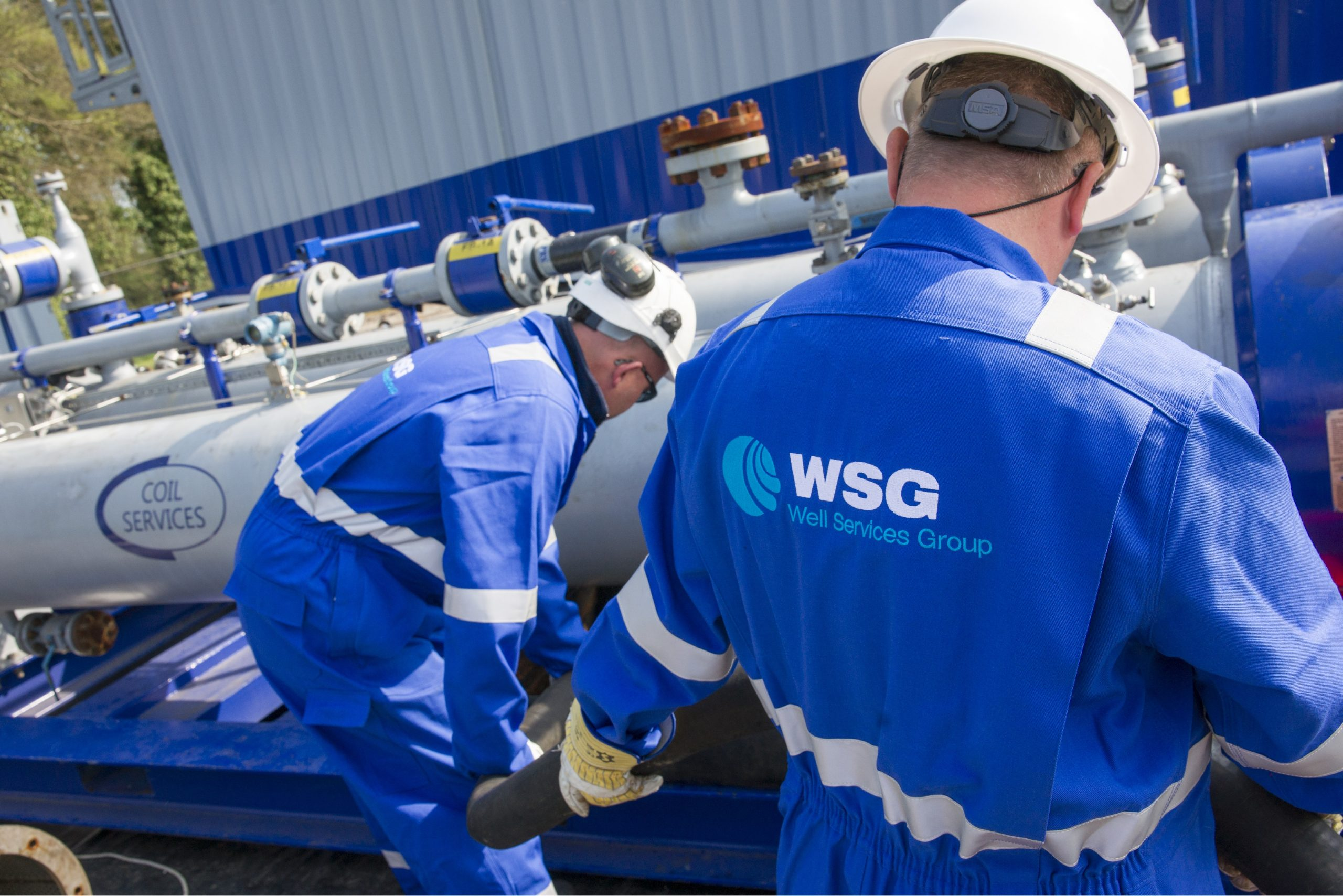 WSG Pipeline Drying & Dewatering