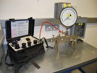 Pneumatic Pressure Testing