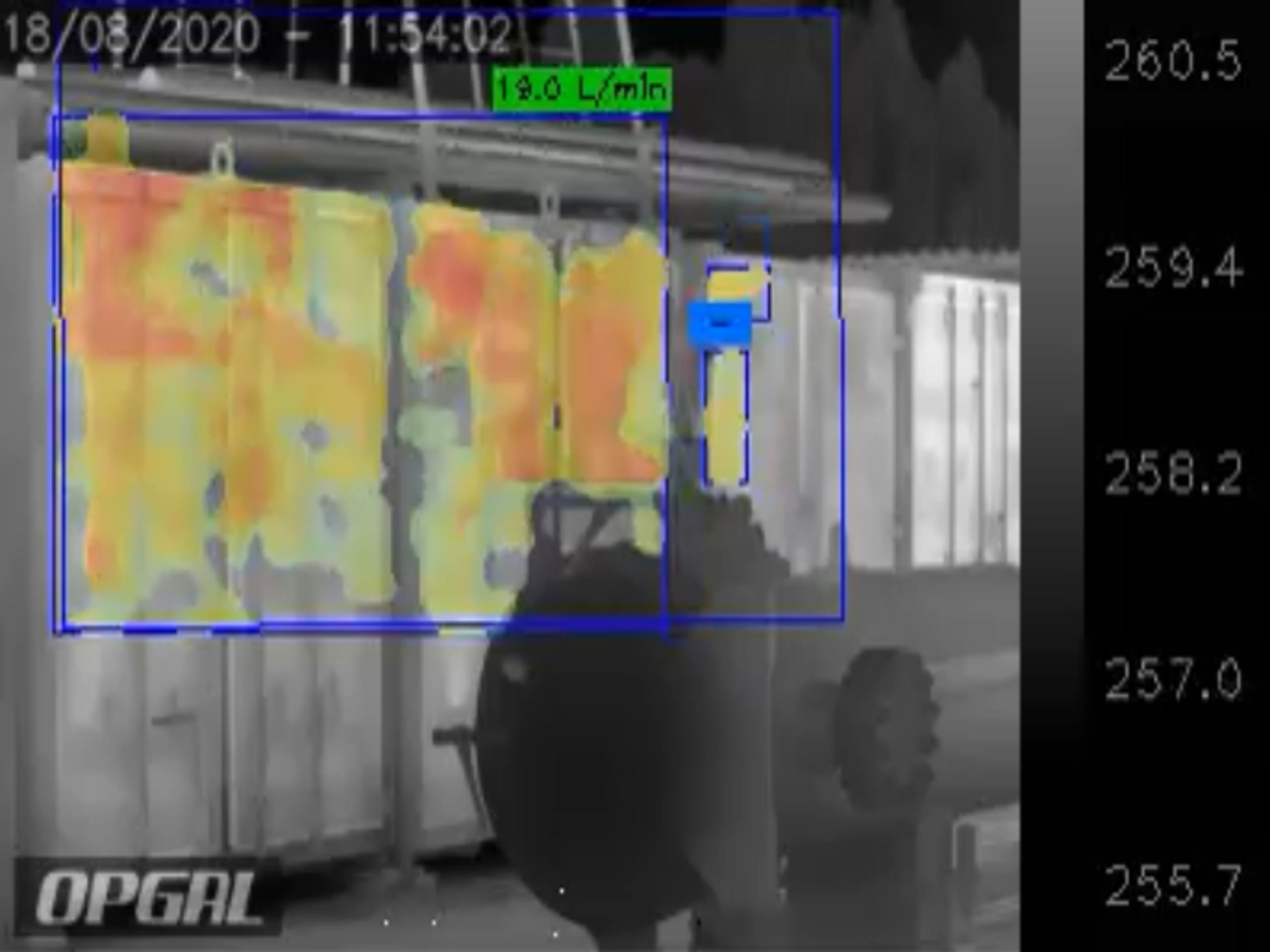 WSG Enviro demo optical gas cameras