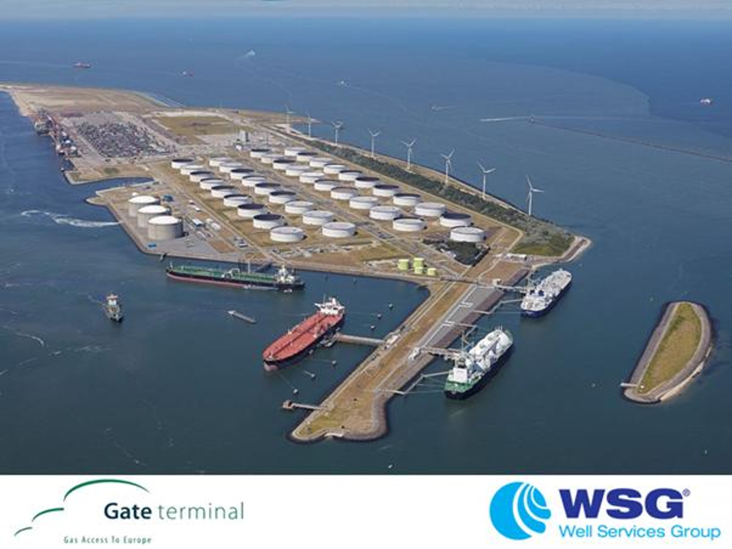 WSG sign Gate Terminal BV service contract