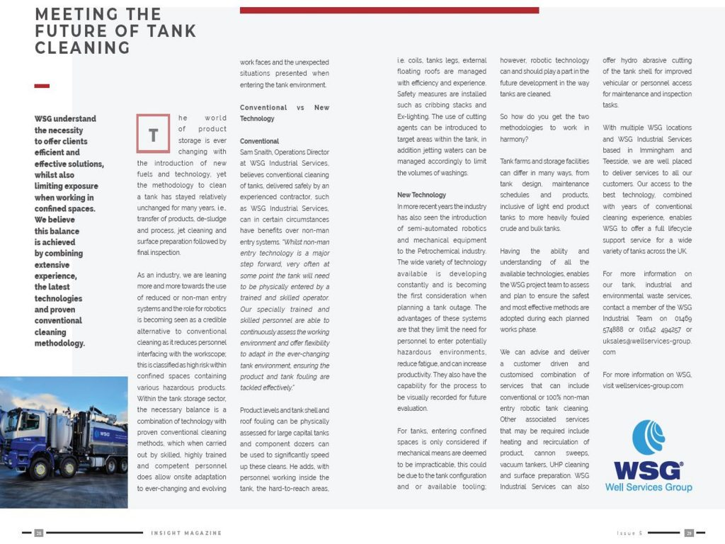 WSG TSA Insight Magazine Article